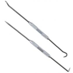Крюк для снятия резиновых уплотнителей АвтоДело 2 сторонние 2предмета, арт: 1054218 - Инструменты, Автомобильные инструменты